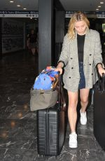 Chloe Moretz Arrives into Washington