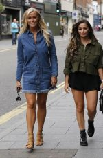 Courtney Green and Chloe Meadows Seen On Brentwood High Street