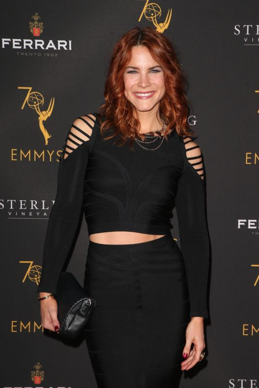 Courtney Hope At Television Academy Daytime Peer Group Emmy Celebration, Los Angeles