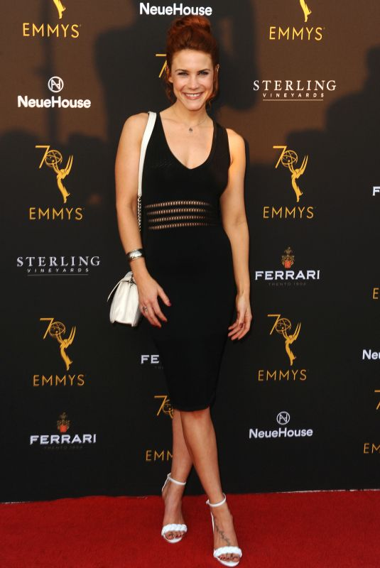 Courtney Hope At Television Academy Performer Peer Group celebration, Los Angeles