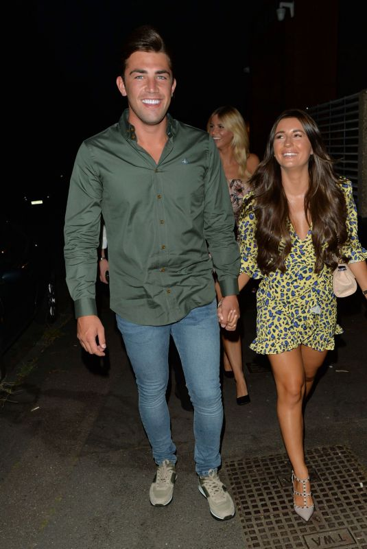 Dani Dyer and Jack Fincham Out in Essex, UK
