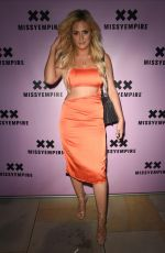 Danielle Sellers At the Missy Empire Fashion party at Menagerie in Manchester