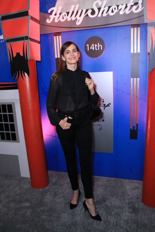 Deborah Puette At 2018 Hollyshorts Film Festival Opening Night at the TCL Chinese 6 Theatres in Los Angeles