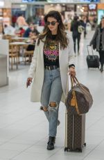 Delta Goodrem Getting off a flight from Melbourne in Adelaide