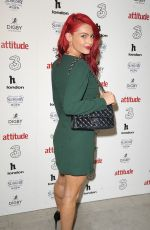 Dianne Buswell Attends Attitude 300 celebrating with Three, London