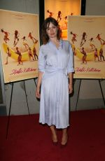 Emily Mortimer At New York Premiere of