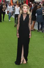 "Emma Rigby At ""The Festival"" world premiere at Cineworld Leicester Square"