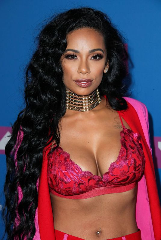 Erica Mena At MTV Video Music Awards, New York