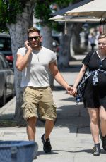 Francesca Eastwood and Alexander Wraith Out and about in Hollywood