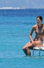Garbine Muguruza On holidays in Ibiza