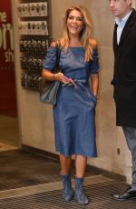 Gemma Oaten At BBC Radio One Studios in London