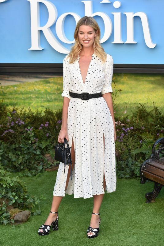 Hannah Cooper At The Christopher Robin European Premiere in London