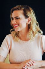 "Hayley Atwell At Press conference for ""Christopher Robin"" held in Beverly Hills"