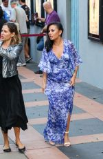 Janel Parrish Outside ArcLight Theatre in Century City