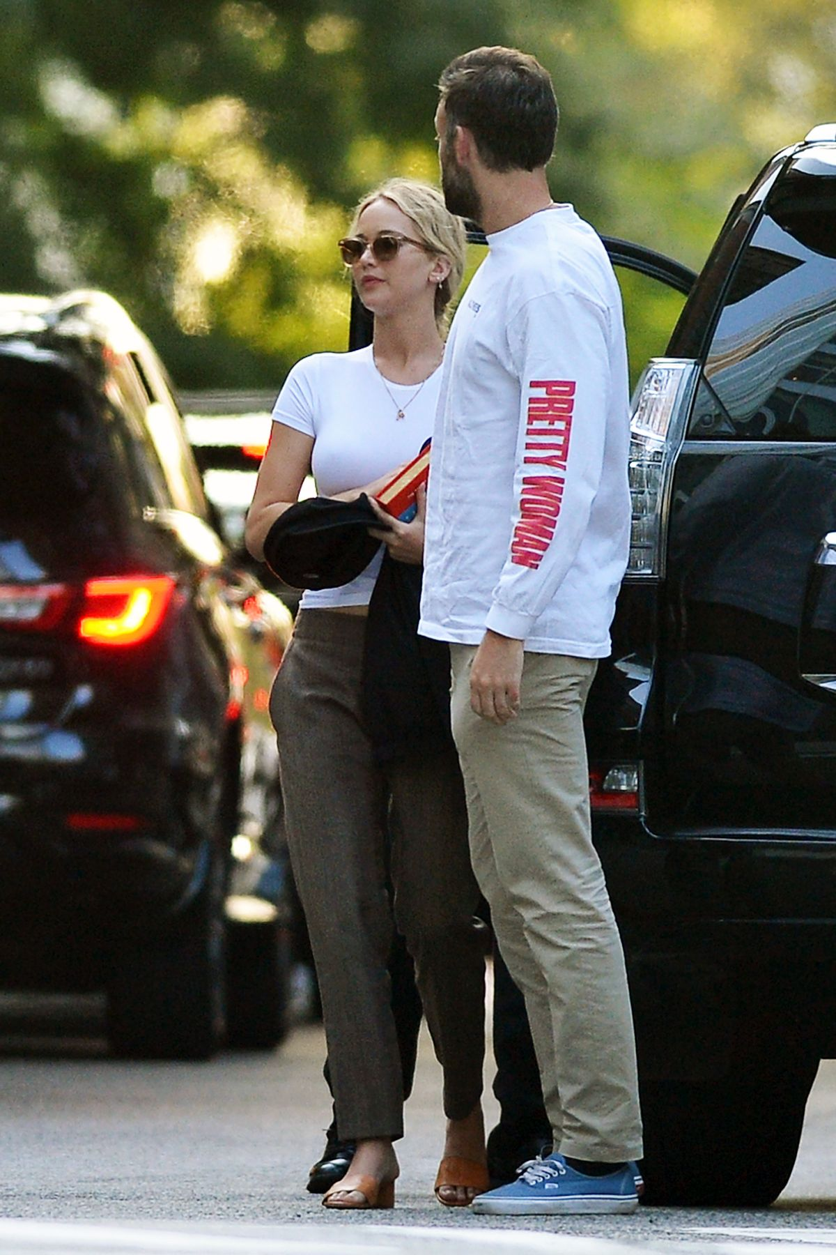 Jennifer Lawrence Heads to the movies with Cooke Maroney ...