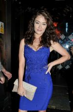 Jess Impiazzi And Chloe And Lauryn Goodman Arrive At Menagerie Bar In Manchester