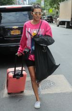 Jessica Andrea Out of the Greenwich Hotel in New York