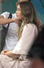 Jessica Biel At the Today show set to talk about the new season of USA Networks
