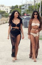 Jessica Wright Showing her beach style while out in Ibiza