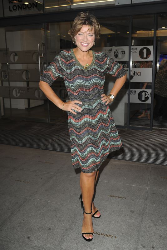 Kate Silverton At The One Show BBC Studios in London