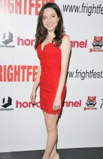Katie Sheridan At Heretiks Film Premiere during Arrow Video FrightFest, London