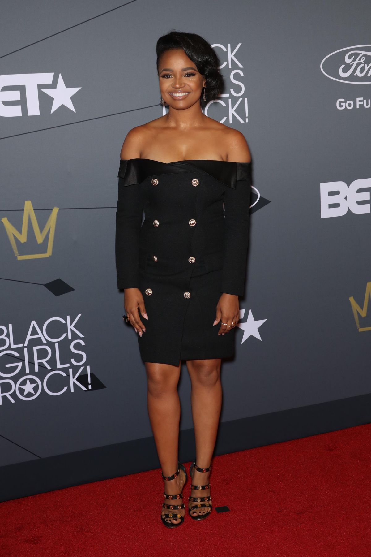 Kyla Pratt At Black Girls Rock Awards, Newark - Celebzz