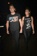 Kym Marsh and Scott Walker At The Thomas Twins 30th Birthday Party in Manchester