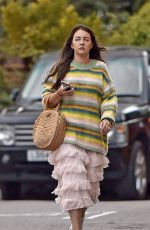 Lacey Turner Out & About in North London