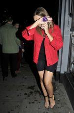 Laura Simpson At celebrity hot-spot Club Liv in Manchester