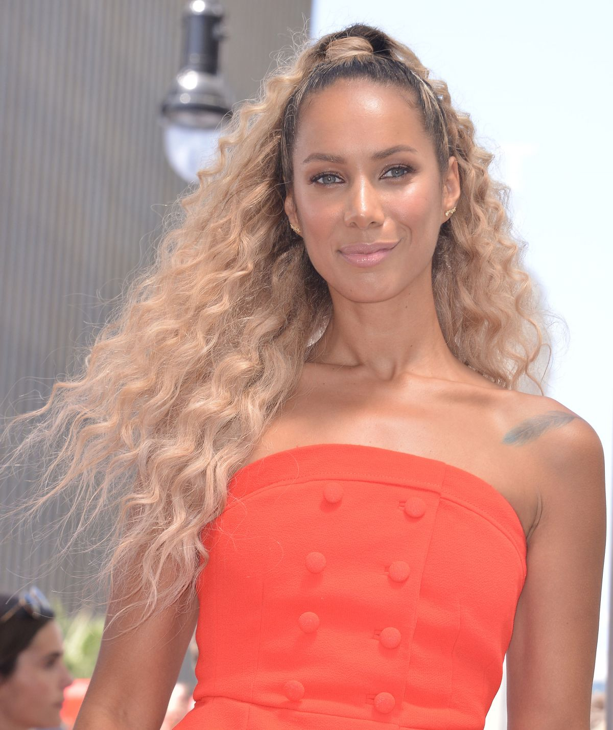 Leona Lewis At Simon Cowell Star On The Hollywood Walk Of