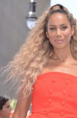 Leona Lewis At Simon Cowell Star On The Hollywood Walk Of Fame Ceremony