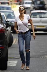 Lilly Becker Out and about in London