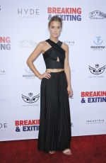 Lily Anne Harrison At Breaking and Exiting Film Premiere, Los Angeles