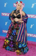 Lily Barrios At MTV Video Music Awards, New York
