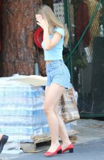 Lily-Rose Depp Goes grocery shopping in Los Angeles