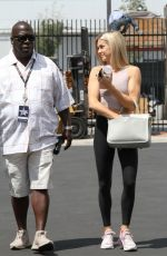 Lindsay Arnold Arrives for practice at the Dancing With The Stars dance studio in Los Angeles