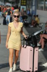 Lottie Moss and Danyul Brown At Ibiza airport