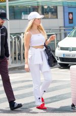 Lottie Moss Arrives at the Ibiza airport