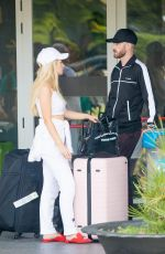 Lottie Moss At the Ibiza airport