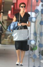 Mandy Moore Shops at Lou and Grey after a trip to the hair salon in Beverly Hills