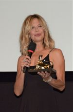 Meg Ryan Awarded with the leopard club award at the locarno festival 2018 in Switzerland