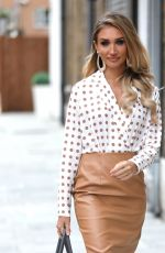 Megan McKenna At Studio Mouthy in London