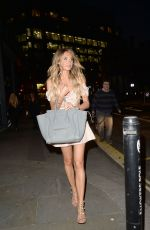 Megan McKenna Celebs on The Farm Launch Party in London