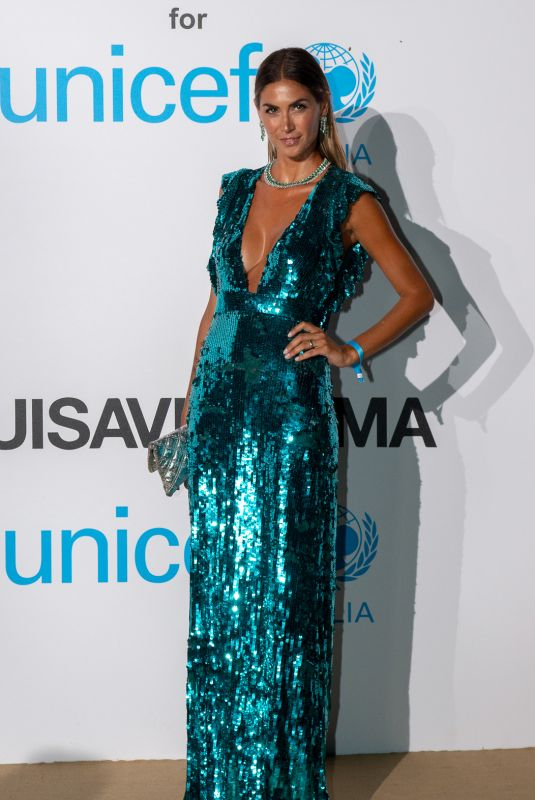 Melissa Satta At Unicef Summer Gala in Porto Cervo, Italy