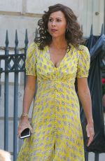 Minnie Driver Holding hands with former boyfriend Christopher Turner in London
