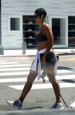 Nicole Murphy On a hot Summer day in Beverly Hills