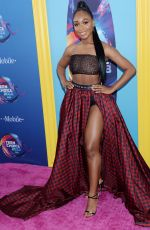 Normani Kordei At Teen Choice Awards at The Forum in Inglewood