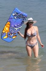 Phoebe Price and Marcela Iglesias At a day at the beach together in Malibu