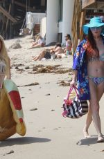 Phoebe Price Enjoying the rest of the Summer in Malibu