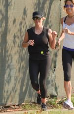 Reese Witherspoon On morning workout in Los Angeles